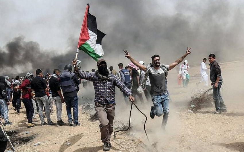 "The Palestinian ""March of Return"""